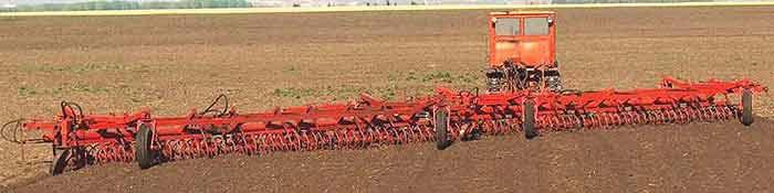 Орудие многофункциональное для поверхностной обработки почвы (МФО)