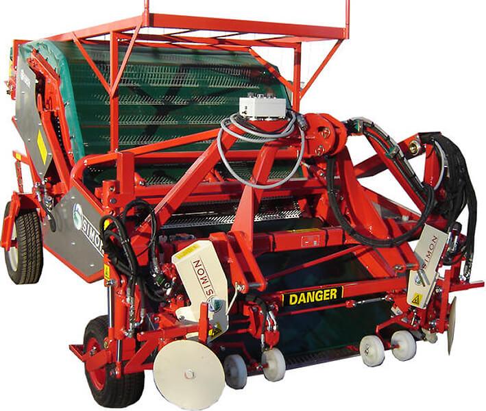 Машина для сбора овощной валерианницы (Compact)