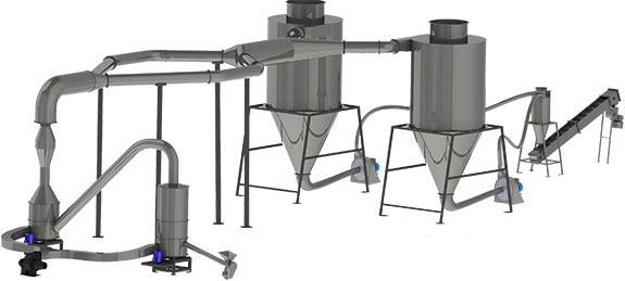 Сушилка аэродинамическая комбинированного типа (АСКТ)