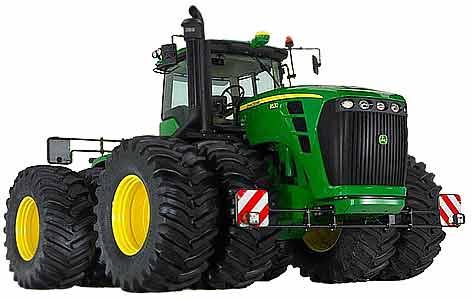 Трактор колесный (John Deere 9030)