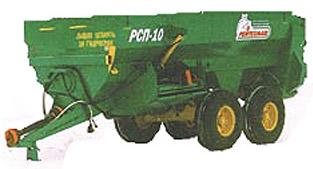 Раздатчик-смеситель кормов прицепной (РСП-10)