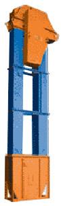 Элеватор (нория) вертикальный ковшевый зерновой (ЕКЗ(М))