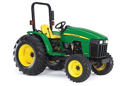 Трактор компактный (John Deere 4000)