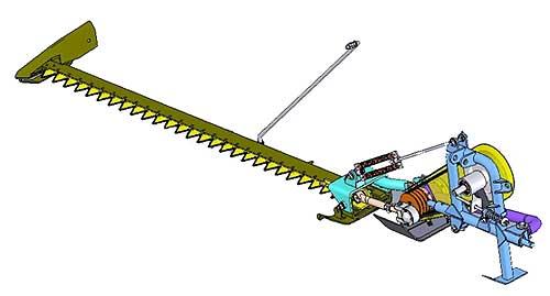 Косилка сегментная навесная легкая (КСЛ-2,1)