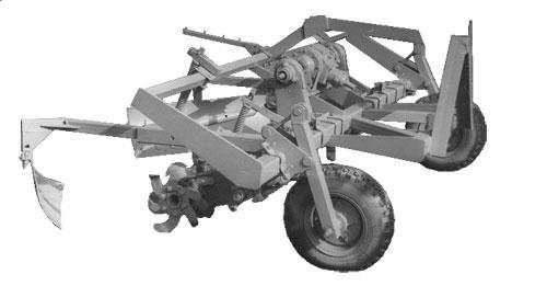 Машина для окучивания клоновых подвоев (МУП-1)