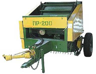 Пресс-подборщик рулонный (ПР-200)