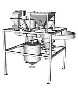 Машина для снятия пленки с ядра кедрового ореха (ПШМ-0.2)