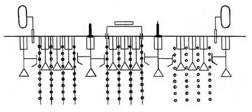 Культиватор навесной для обработки посадок лука (КНЛ-5,2)