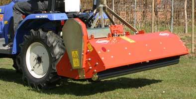 Мульчирователь для парков с горизонтальным ротором (Kuhn TL)