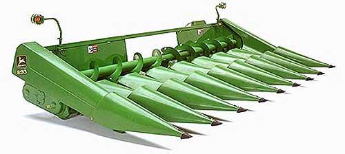 Жатка кукурузная для зерноуборочных комбайнов (Kemper 206(208))