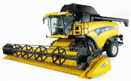 Комбайн зерноуборочный (New Holland CX 8000)