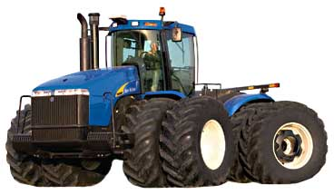 Трактор (New Holland T 9000)