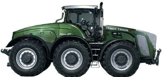 Трактор трехосный (Trisix Vario)