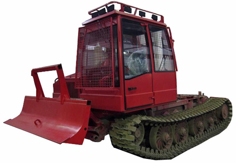 Трактор гусеничный лесопромышленный (Онежец-300 БС)