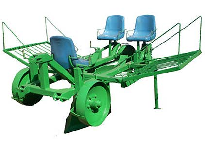 Машина для посадки саженцев плодовых деревьев и кустарников (МПС-2М)