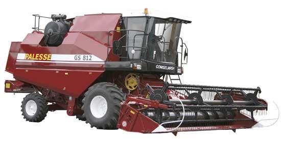 Комбайн зерноуборочный самоходный (Палессе GS812)