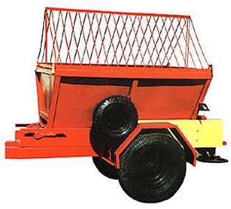 Прицеп-разбрасыватель песка (Л-415)
