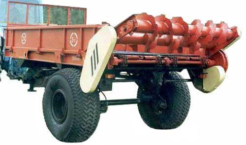 Машина для внесения твердых органических удобрений (МТО)