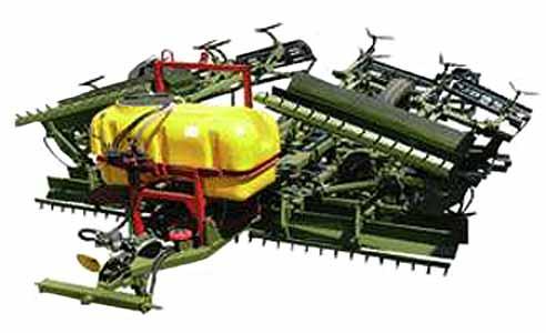 Агрегат для внесения гербицидов (АВГ-8)