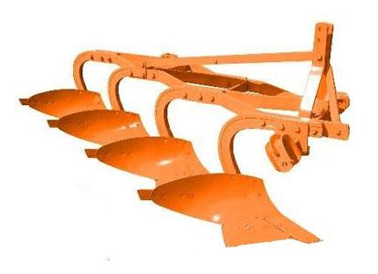 Плуг 3-4-х корпусный эксцентрический навесной (ПЭН)