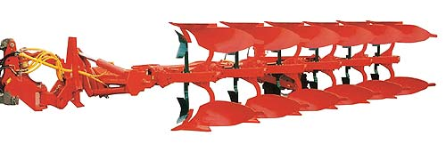 Плуг 5-8-ми корпусный полунавесной оборотный (Hektor)