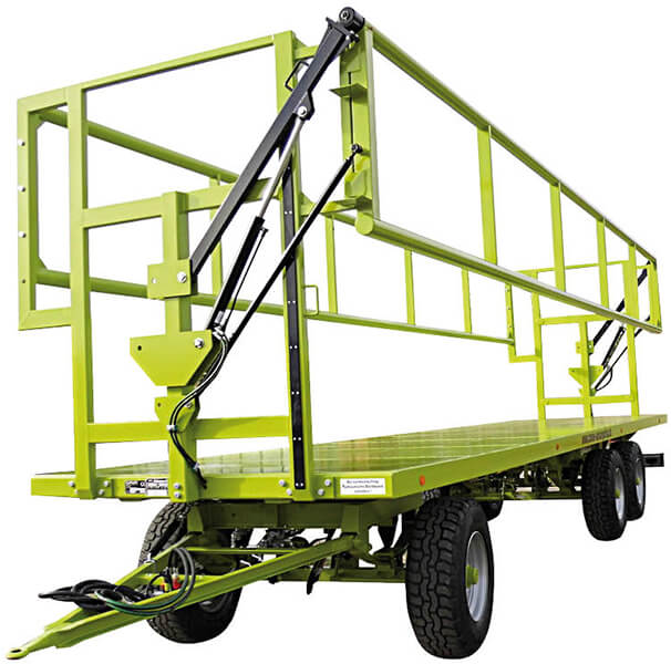 Прицеп-платформа для транспортировки рулонов (Conow BTW V9)