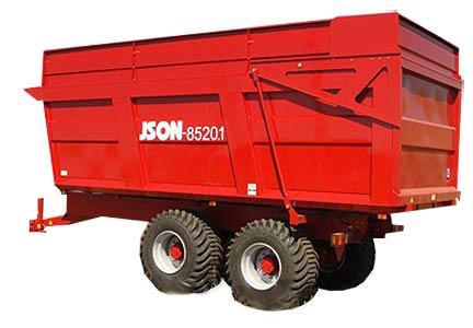 Прицеп самосвальный тракторный (Ison)