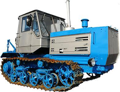 Трактор гусеничный (УЛТЗ-150)