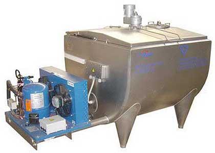 Резервуар-охладитель молока открытого типа (Г6-ОРМ-450 (1000, 2000))