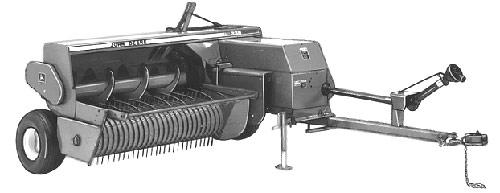 Подборщик для небольших полей (John Deere 300)