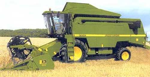 Комбайн зерноуборочный (John Deere 2200 WTS)