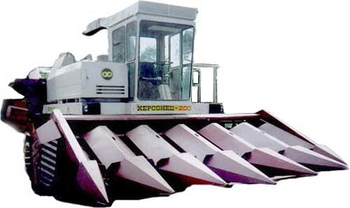 Комбайн кукурузоуборочный (Херсонец)