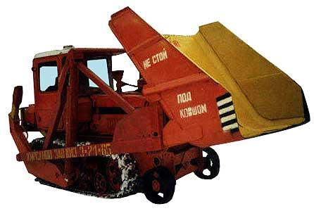 Погрузчик тракторный (ПТС-77М (ПТГ-92))