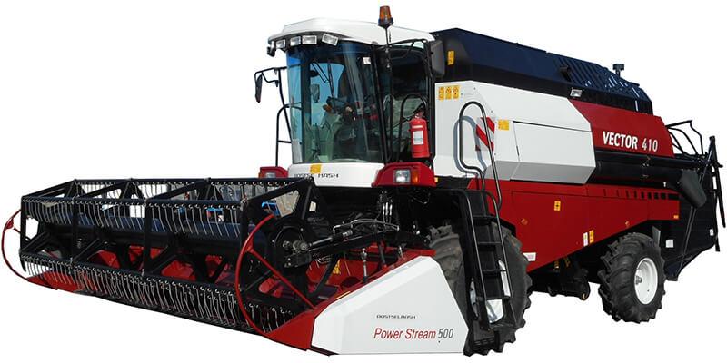 Комбайн зерноуборочный (Vector 410(425))