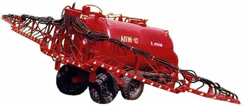 Машина для внесения жидких минеральных удобрений (АПЖ-12)