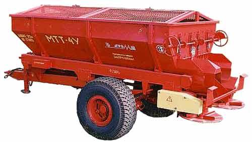 Машина для внесения твердых минеральных удобрений (МТТ-4У)