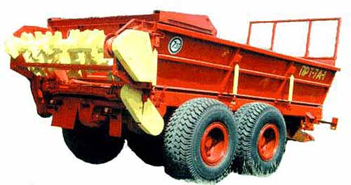 Машина для внесения твердых органических удобрений (ПРТ-7А)
