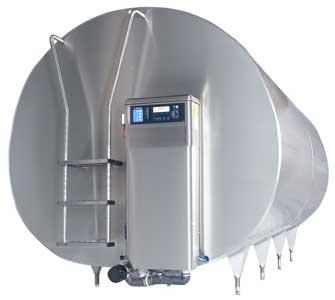 Танк холодильный закрытый (DeLaval DXCE (M))