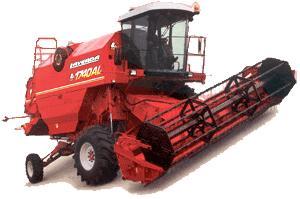 Комбайн зерноуборочный (Laverda 1740AL)