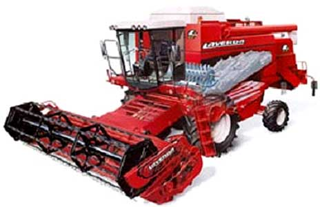 Комбайн зерноуборочный (Laverda LX)