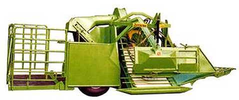 Комбайн для уборки ягод (Jovaras USK-1)
