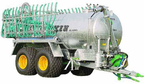 Цистерна для жидкого навоза (Quadra)
