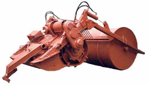 Машина для глубокого фрезерования земель (МТП-44Б)