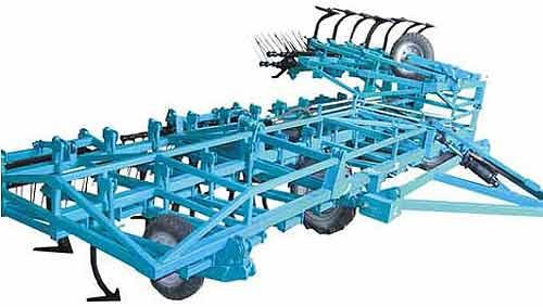 Культиватор прицепной сплошной обработки почвы (КПС-4(8)М)