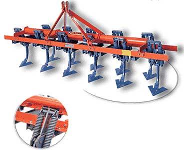 Культиватор с вертикальными пружинами (Koylu DYK)