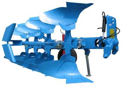 Плуг 2-5-ти корпусный оборотный навесной (Sukov LMK)