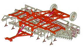 Агрегат комбинированный для минимальной обработки почвы (АКМ-6)