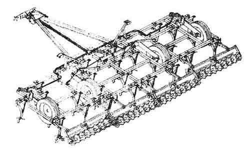 Орудие для предпосевной обработки почвы (ОП-8)