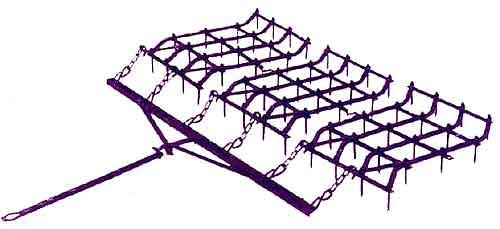 Борона легкая посевная (ЗБП-0,6А)
