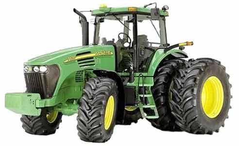 Трактор универсально-пропашной (John Deere 7020)